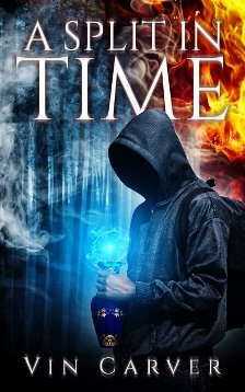 A Split in Time - Book cover