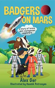 Badgers on Mars - Book cover