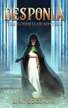 Desponia: Goddess of Mystery - Book cover