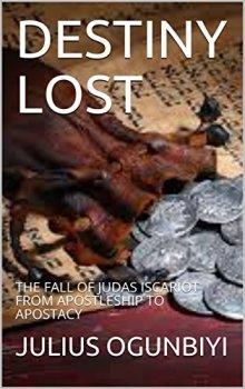Destiny Lost - Book cover