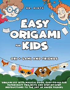Easy Origami for Kids - Book cover
