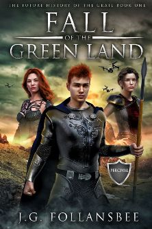 Fall of the Green Land - Book cover