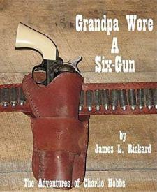 Grandpa Wore a Six-Gun - Book cover