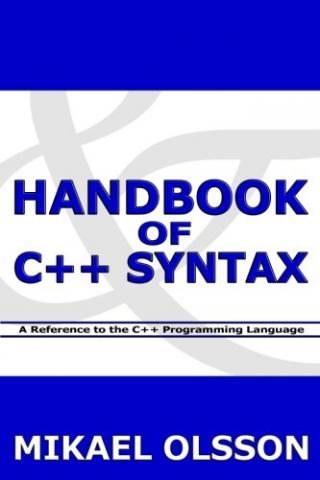 Handbook of C++ Syntax - Book Image Did Not Load!