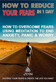How To Reduce Your Fears In 1 Day - Book cover