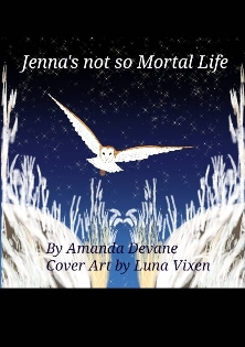 Jenna's no so Mortal Life - Book cover