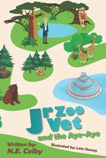 Junior Zoo Vet and the Aye-Aye - Book cover