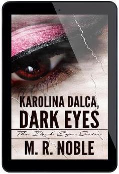 Karolina Dalca, Dark Eyes - Book cover