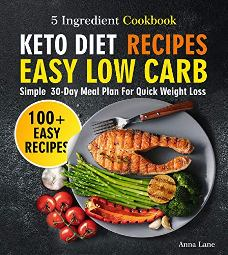 Keto Diet Recipes - Book cover