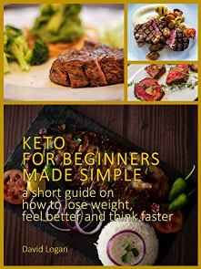 Keto for beginners made simple - Book cover