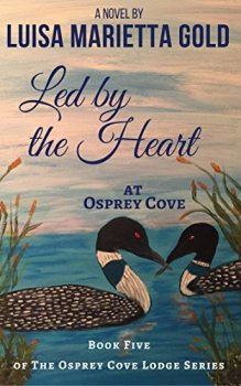Led by the Heart at Osprey Cove - Book cover
