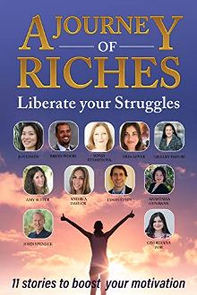 Liberate your Struggles: A Journey of Riches - Book cover