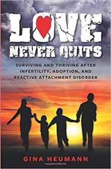 Love Never Quits - Book cover