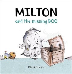 Milton and the Missing Boo - Book cover