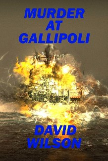 Murder At Gallipoli - Book cover