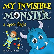 My Invisible Monster: a space flight - Book cover