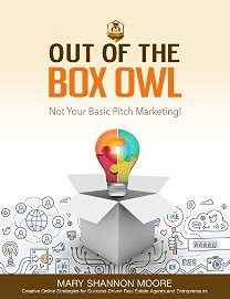 Out of the Box Owl (book) by Mary Shannon Moore