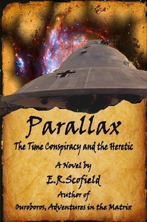 Parallax, the Time Conspiracy and the Heretic (Book Cover)