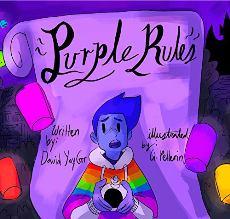 Purple Rules - Book cover