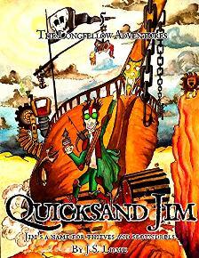 Quicksand Jim - Book cover