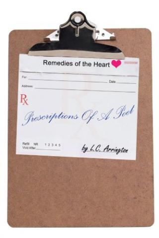 Prescriptions of a Poet: Remedies of the Heart (book cover)