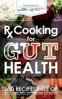 Rx Cooking for Gut Health - Book cover