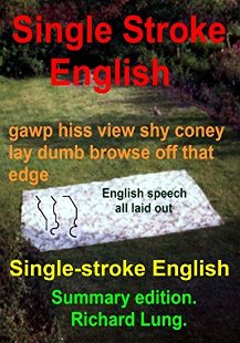 Single-stroke English - Book cover