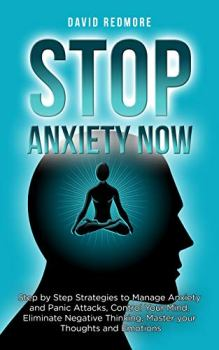 Stop Anxiety Now - Book cover