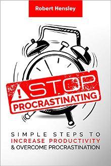 Stop Procrastinating - Book cover