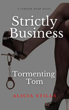 Strictly Business: Tormenting Tom - Book cover