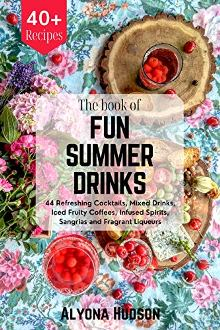 THE BOOK OF FUN SUMMER DRINKS - Book cover
