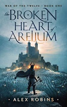 The Broken Heart of Arelium - Book cover