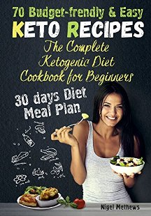 The Complete Ketogenic Diet Cookbook for Beginners - Book cover