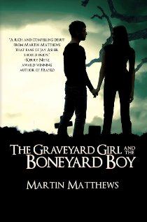 The Graveyard Girl and the Boneyard Boy - Book cover