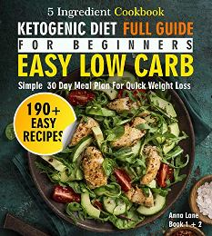 The Ketogenic Diet Full Guide for Beginners - Book cover
