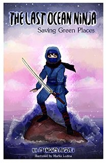 The Last Ocean Ninja - Book cover
