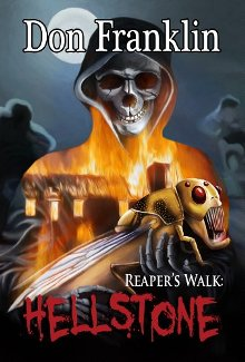 The Reaper's Walk: Hellstone - Book cover