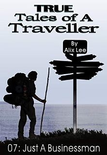 True Tales of a Traveller: Just a Businessman - Book cover