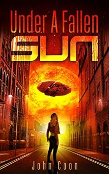 Under a Fallen Sun - Book cover