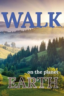 Walk On The Planet Earth - Book cover