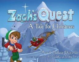 Zach's Quest - Book cover