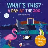 A Day at the ZOO: Bedtime story book - Book cover
