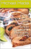 Bright colors of Korean food - Book cover