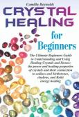 Crystal Healing for Beginners - Book cover