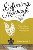 Defining Marriage - Book cover
