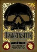 Frankenstein by Mary Shelley - Book cover