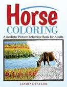Horse Coloring - Book cover