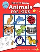 How to Draw Animals for Kids - Book cover