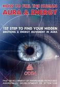 How To Feel The Human Aura And Energy - Book cover
