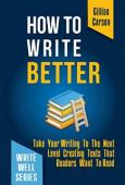 How To Write Better - Book cover